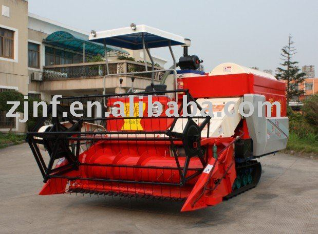 combine harvester (portrait axial flow)