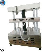 Hot sale pizza cono show cupboard from China, finished pizza production line