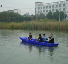 6 meters Cheap used small plastic fishing boat for sale