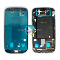 China suppliers LCD Frame Housing Cover for Samsung Galaxy S3 T999 I747 i535 Front Bezel