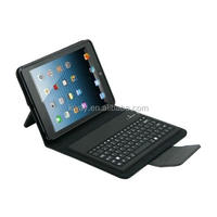 Wireless Bluetooth Keyboard with Folio Leather Case For iPad mini KKB034