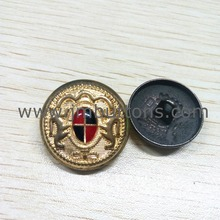 fancy gold custom types designs shank button