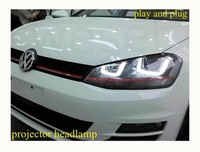 quality products modified headlamp assembly for VW Golf7