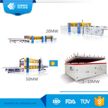 Keyland semi auto / automatic panel solar module vacuum laminating machine price