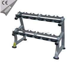 Traditional Strength Free Weights YD-9834A Twin Tier Dumbbell Rack