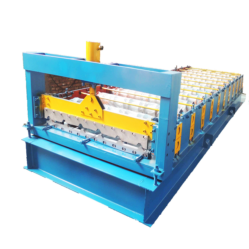Hot-selling galvanized color steel roll forming machine