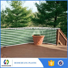 Courtyard plastic balcony privacy garden fence screen netting with competitive