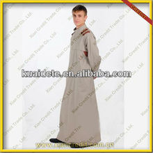 Top Quality New Model Arab Men's Thobes Designs Islamic Clothing for Men