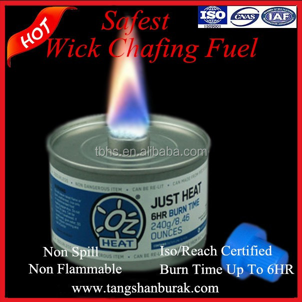 Just heat wick hotel convenient chafing fuel