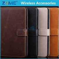 Alibaba China Mobile Phone Classic Vintage Leather Wallet Flip Case Cover For Nokia Xl