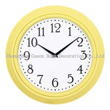 Cason 30cm wall clock different shape with plastic material