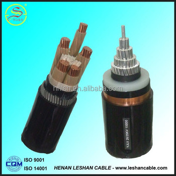 2015 hot selling XLPE insulated Waterproof power cable for middle east