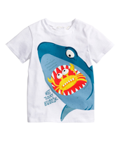 Latest Printed Pattern Small Kid Children's T-shirts o neck t shirt kids