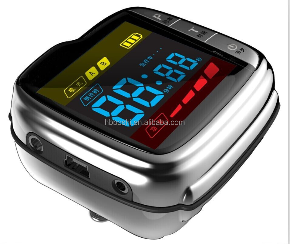 11 holes Multifunction Wrist laser therapy device watch style