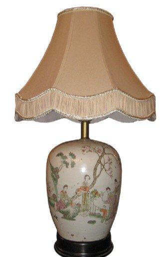 antique chinois porcelaine lampe de table id de produit 261711497. Black Bedroom Furniture Sets. Home Design Ideas