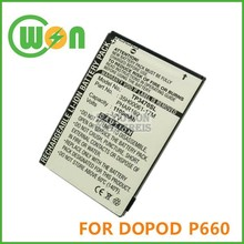 P660 battery for DOPOD P660 battery for HTC P3470, HTC Pharos 100 PDA battery