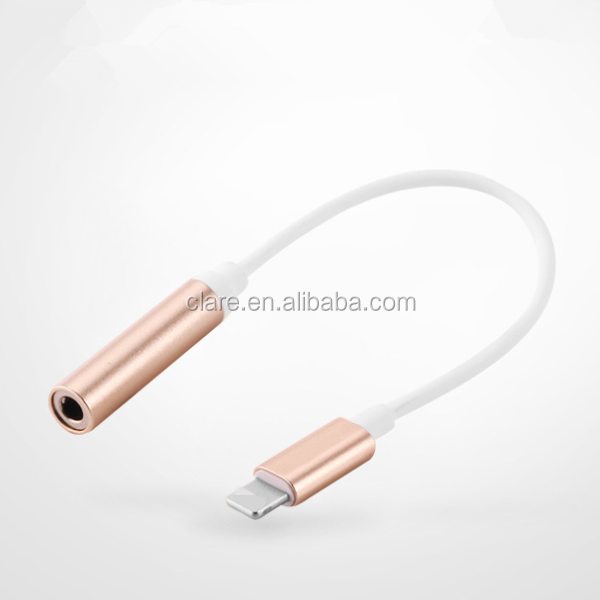 For iphone7 3.5mm Audio cable OEM for iphone 7 headphone adapter