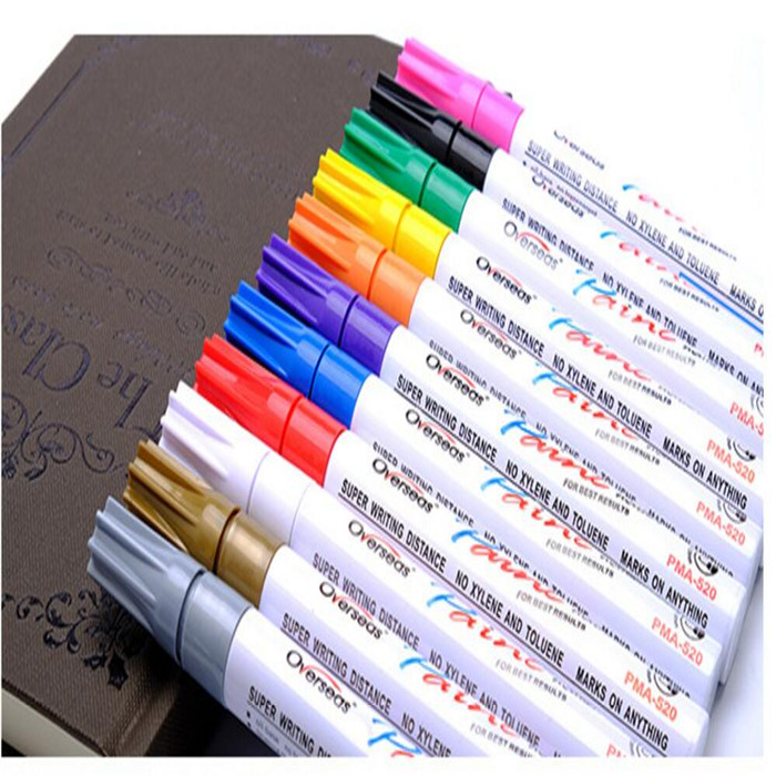 DIY projects. Set of 12 Acrylic Marker pens