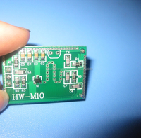 Hot sales HW-M10 10.525GHZ Wireless Radar sensor Module for Lighting( Cutom distance&time)