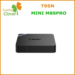Top Best and hot sale Octa core GPU 8GB EMMC ROM T95N-Mini M8S pro 2G 8G TV BOX digital set top box t95n