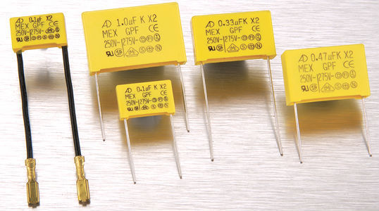 high voltage electronic interference suppressor capacitor x2 capacitor