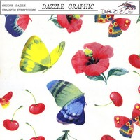 Super Value No.DGM-9902 Hydrographics Film Dazzle Butterfly Feature Design Water Transfer Printing Film