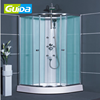 Ningbo SONDA modern New design Fashion sliding steam toughed glass simple enclose steam shower cabin