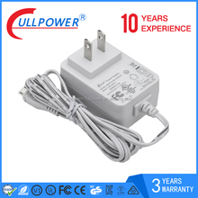 white 12v 1a dc power adapter audio power with 3 years warranty