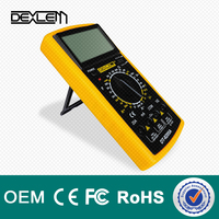 DELE dt9205a# Hot Sale Low Price LCD Digital Display Analog Multimeter Tester