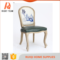 High grade new arrival fabric dining chairs/high back fabric dining chairs