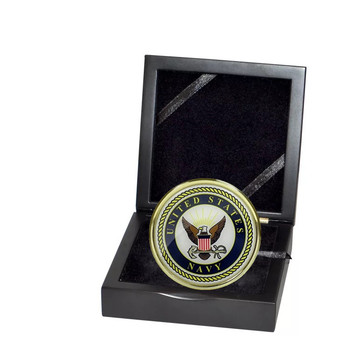 Custom metal challenge coin eagle America flag army coin no minimum order
