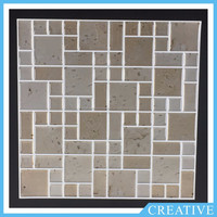 Peel And Stick Adhesive 3D Gel Wall Tiles Epoxy Kitchen Mosaic Wall Tiles