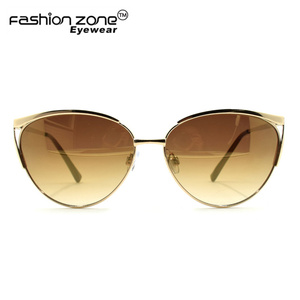 Fashion Replica Cat 3 uv400 Sunglasses 2017 Women Cat Eye Mirror Sun glasses CE Mark