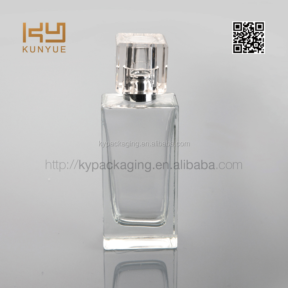 30ml glass perfume bottle with square surlyn cap popular in Europe
