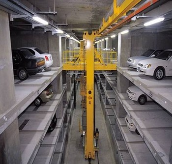 Underground Traveling Stack Car Parking Space