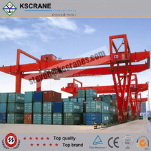 Container Handling Gantry Cranes with Rail Mounted Crane for sale