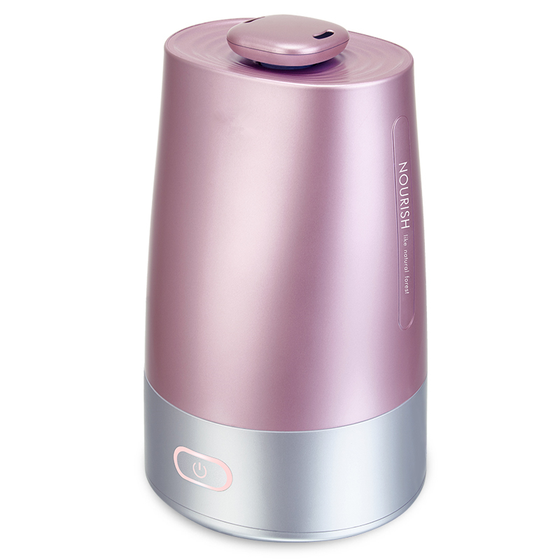 Home Ultrasonic Cool Mist Humidifier 300ML Pink Coated Painting