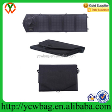Fashion power charger solar panel carry bag