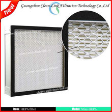 h14 Industrial Mini-pleat Air HEPA Filter