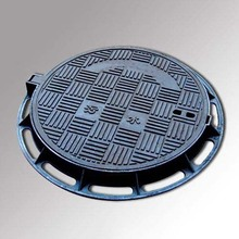 heavy duty ductile iron round electrical manhole cover