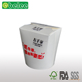 Wholesale price single wall paper noodle container take away food box