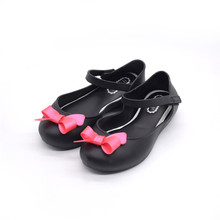 Fashion Design Beautiful Jelly Beach Shoes Baby Children Girls Flat Jelly Sandal Jelly PVC kid Sandals For Kids Sandal Shoes