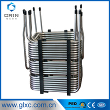 ASTM A249/A269 TP304/316L welded stainless steel tube coil /pipe /heat exchanger tube/pipe price