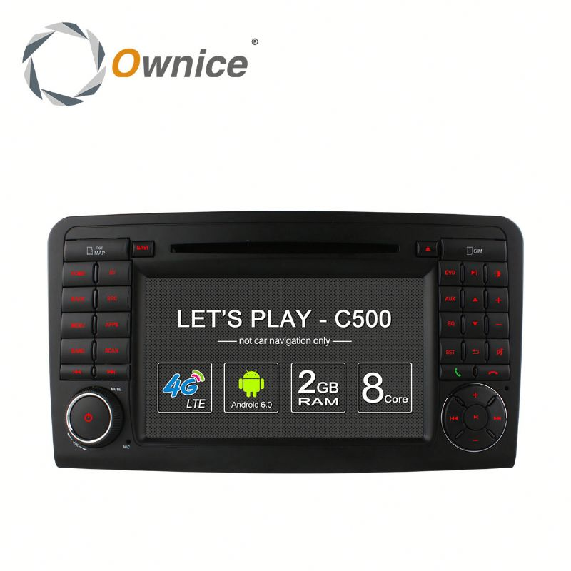 Ownice factory price Octa core Android 6.0 auto headunit for Mercedes-benz ML gl x164 with RDS support DSP dvr TV