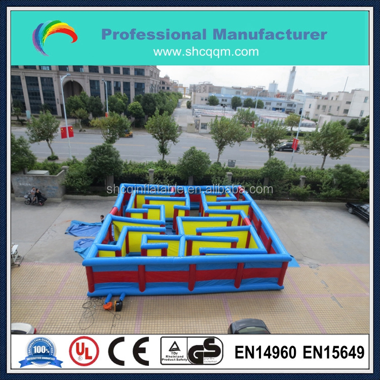 outdoor cube maze,giant inflatable maze laser maze for sale