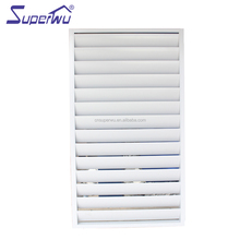 Aluminum Jalousie Window Frames Louvre With Adjusting Blades
