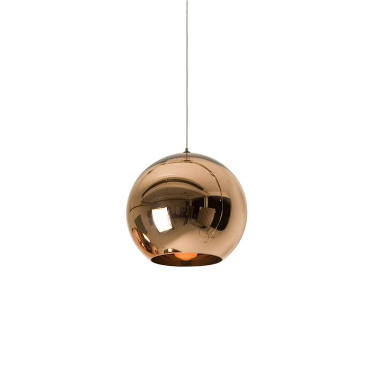 Hot Sell Chrome Golden Round Glass Tom Dixonss Pendant Lighting