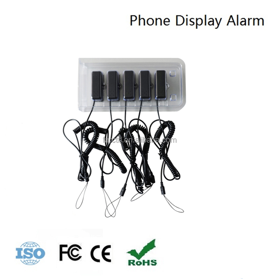Top Quality farctrl Brazil cell phone security <strong>retail</strong> mini anti-theft device