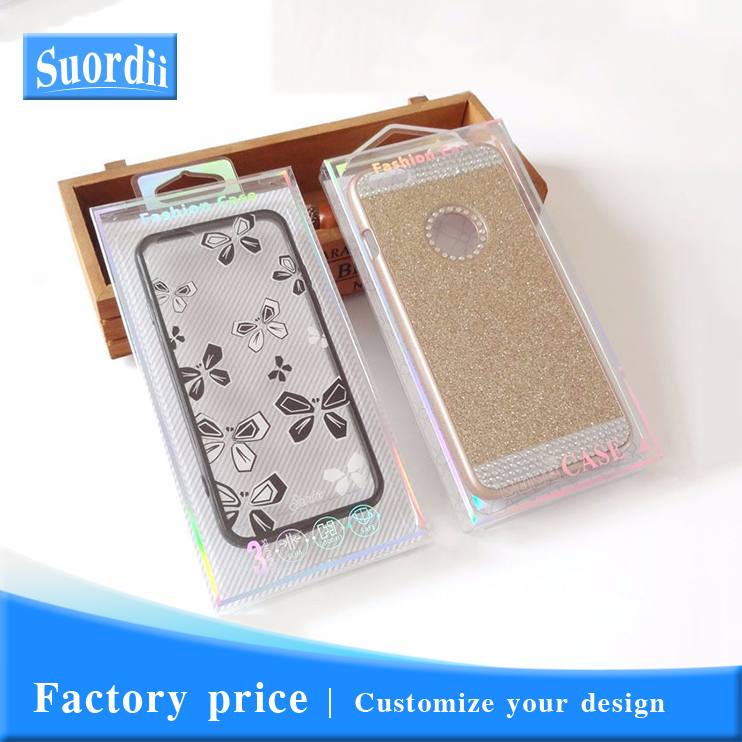 SUD Retail Plastic Packaging Package Crystal Packing <strong>Box</strong> for Cell Phone Leather Wallet Case Back Cover for Samsung for iPhone