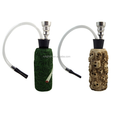 XY462033 Resin+glass Top Quality Hookah Shisha Glass Healthy Smoking Gift Cigarette Tobacco Herb Pipe Narguile Water Pipe